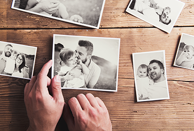 Protect family photos